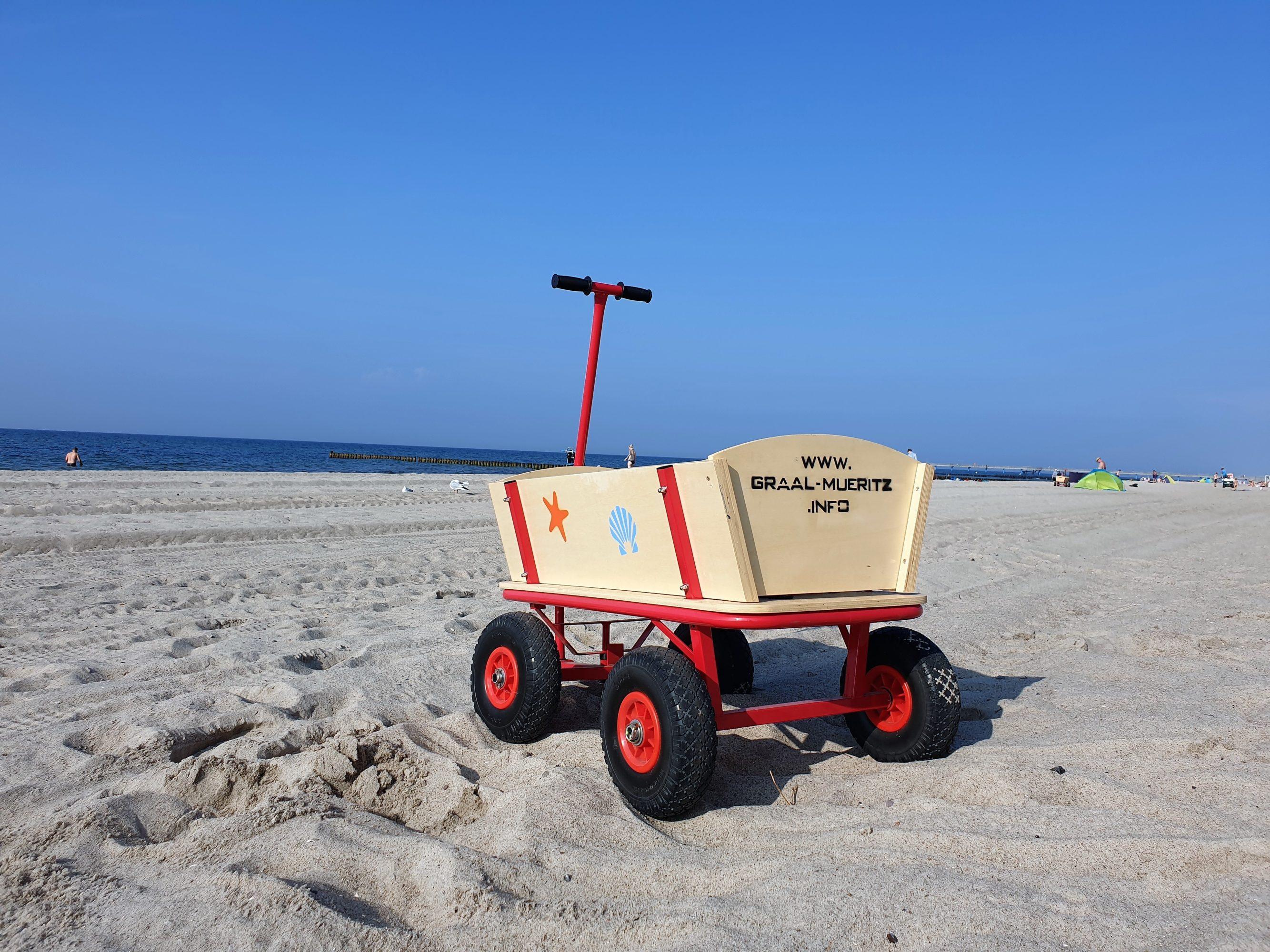Unser neuer Beach-Buggy für den Ostseestrand in Graal-Müritz